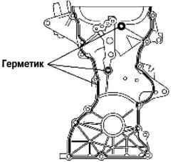 Установка цепи привода механизма
